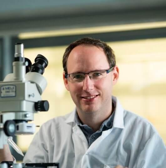 """ד""""ר נדב אמדורסקי מהפקולטה לכימיה במחקר חדשני ומרתק! באמצעות מבנים חלבוניים טבעיים יצרו חוקרים בטכניון יריעות פולימר שקופות בעלות מוליכות גבוהה."""